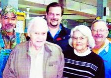 In a 2010 photo, the late Olen Googe is pictured with his family. From left, David, Olen, Ray, Mary and Lamar.