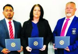 Investigators from Jeff Davis County Sheriff's Office who received FBI certificates are Inv. Jesse Martinez (case agent) and Inv. Anthony McNeal. Dashia Kirby accepted the award on behalf of her late husband, Investigator Duane Kirby, who lost his battle with cancer earlier this year.